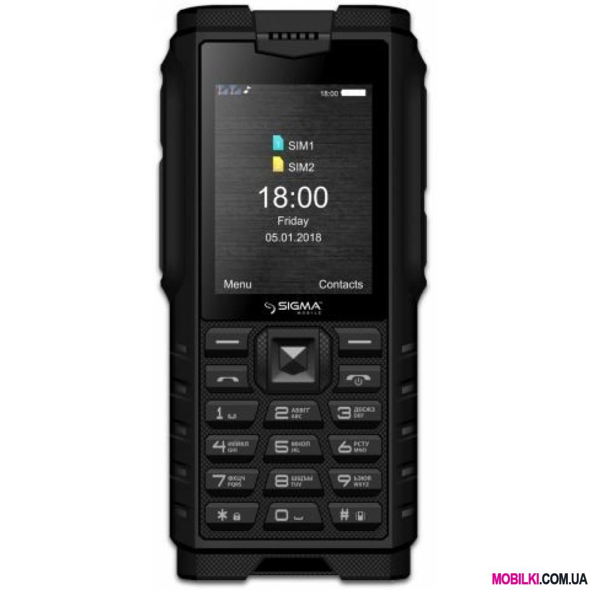 Sigma mobile X-treme DZ68