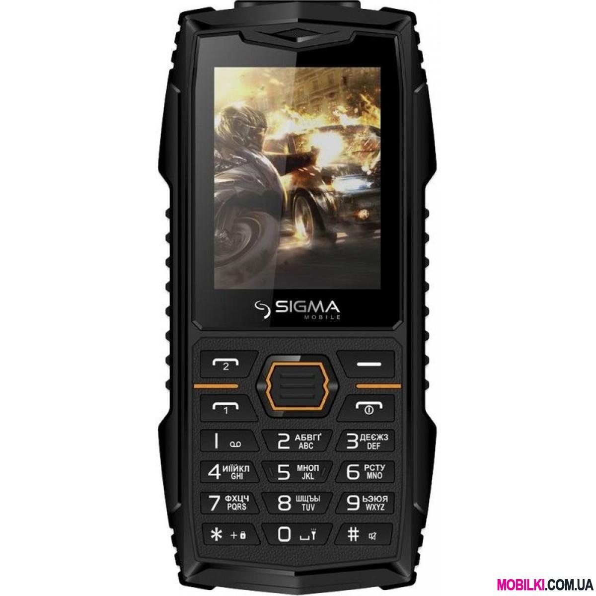 Sigma mobile X-treme AZ68