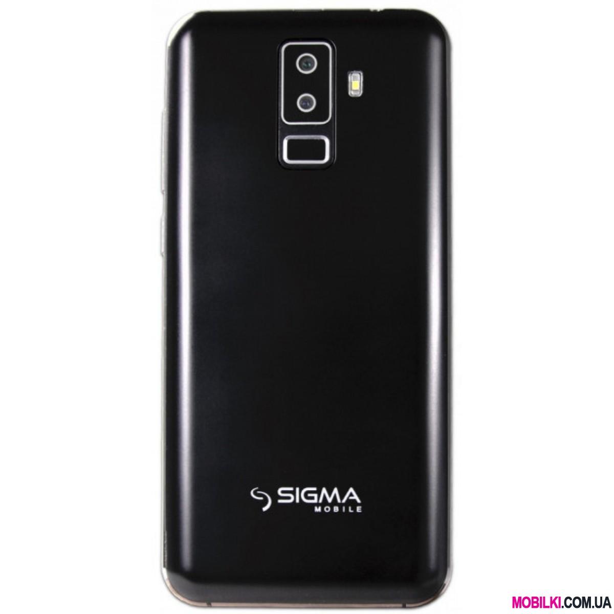 Sigma mobile X-style S5501 Black 4G